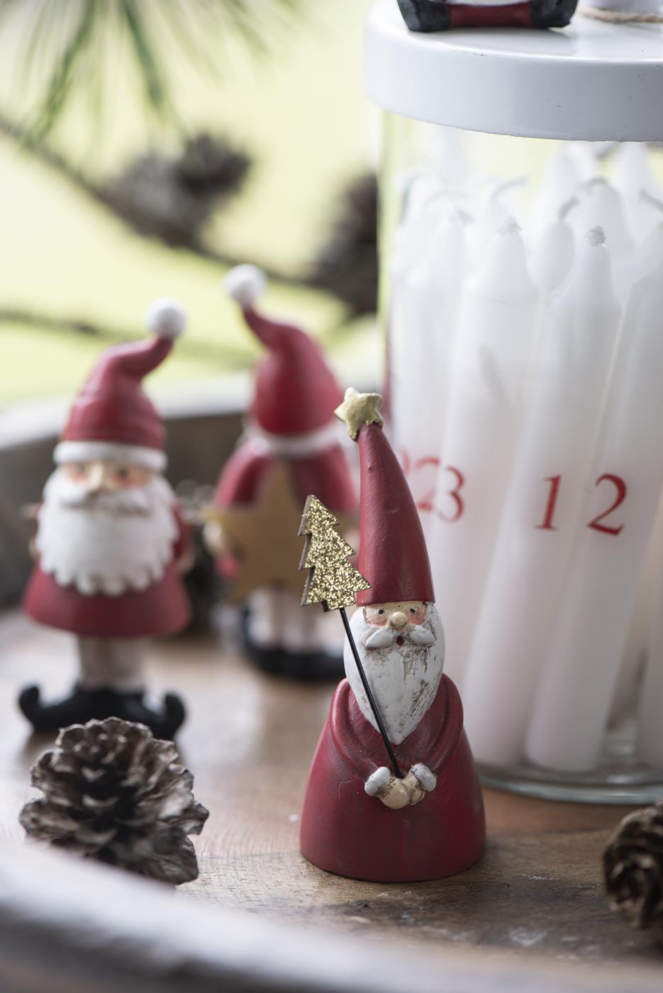 Weihnachtskerzen skandinavisch, Bild 1