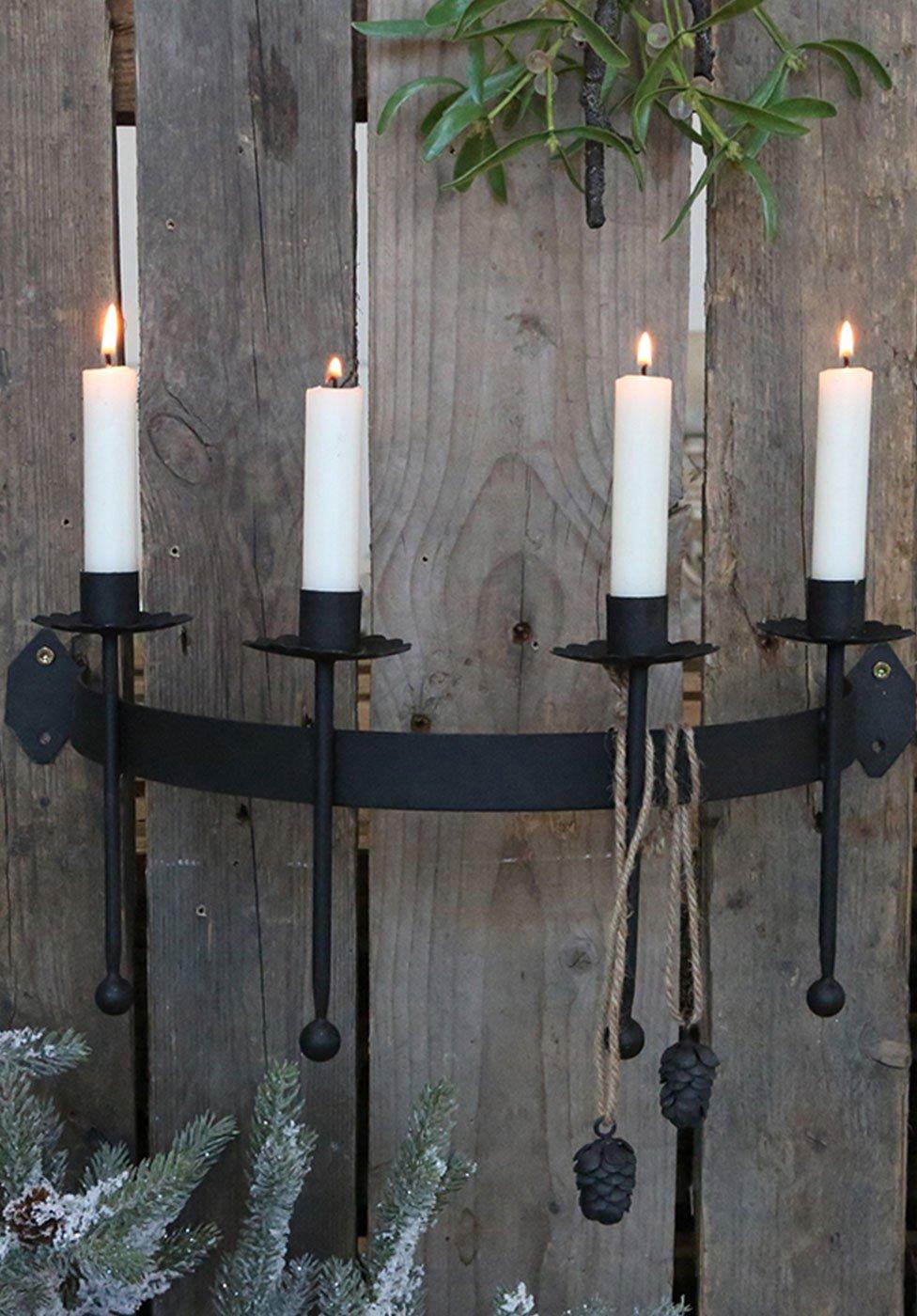 Kerzenhalter und Kerzenständer für Weihnachten, Bild 1