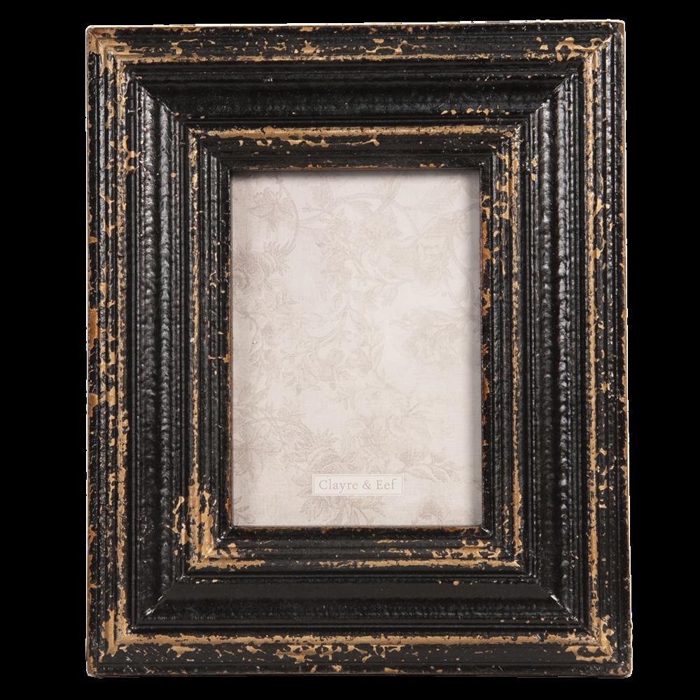 Fotorahmen schlicht 9x13 cm Bilderrahmen Vintage Clayre /& Eef 2F0272XS NEU!