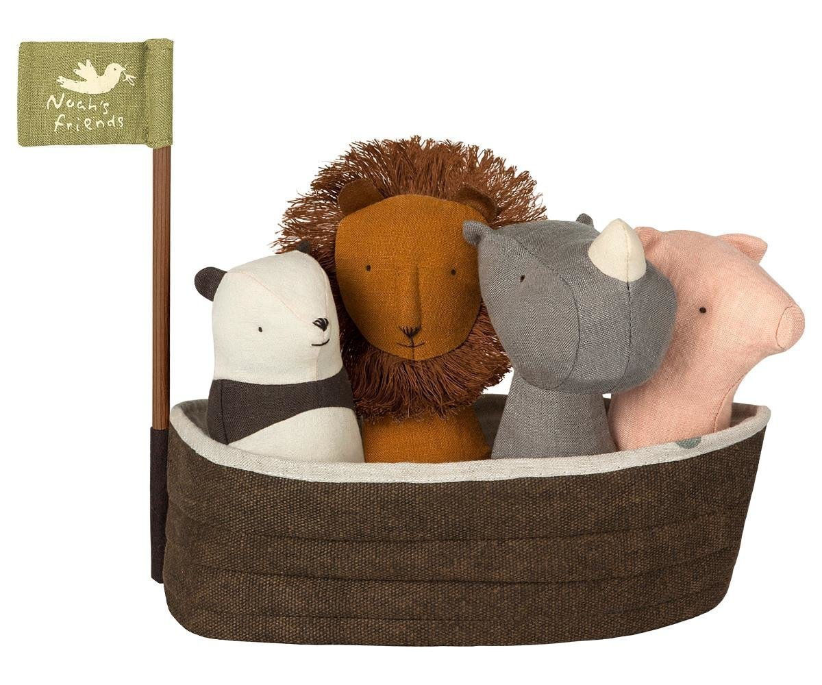 Maileg Arche Noah mit 4 Rassel-Tierchen