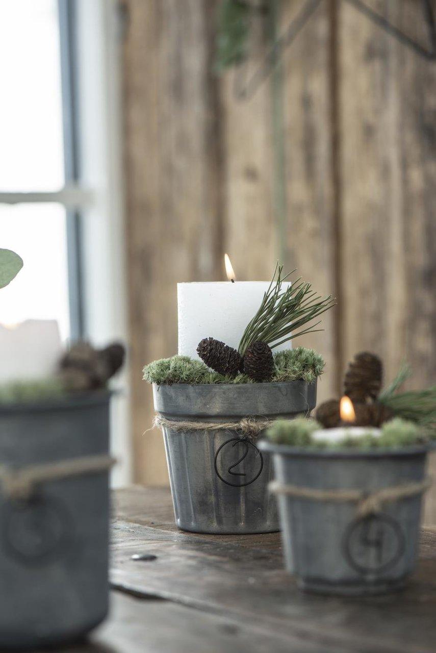 Impressionen zu Ib Laursen Advents-Anhänger für Kerzen und Kerzenhalter 1-4 rund, Bild 3