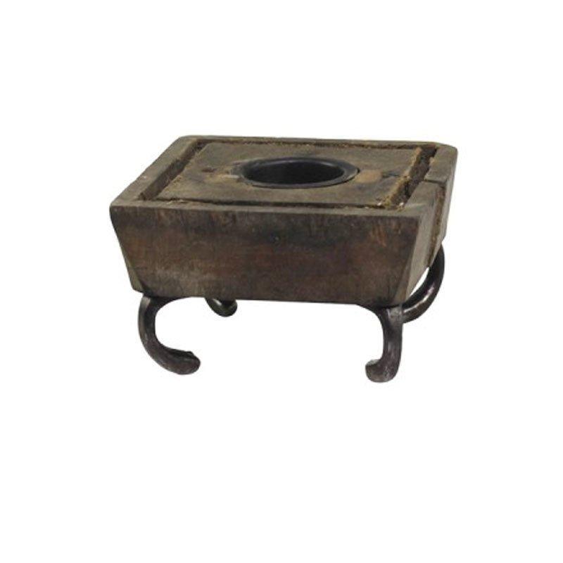 Chic Antique Alte Druckplatte für Teelicht Grimaud