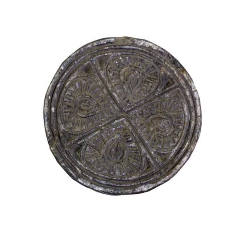Chic Antique Alte Platte unikat Grimaud