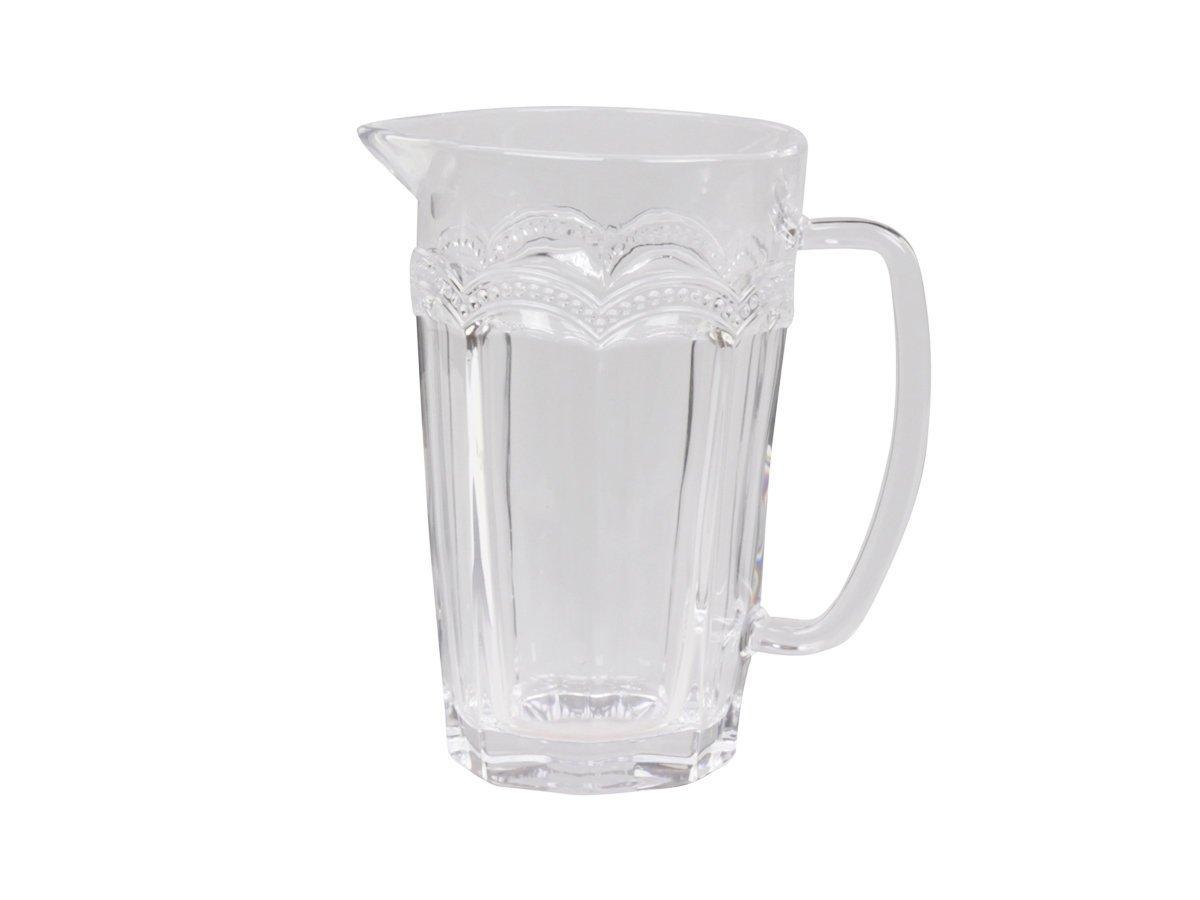 Chic Antique Antoinette Glas Kanne mit Perlenkante
