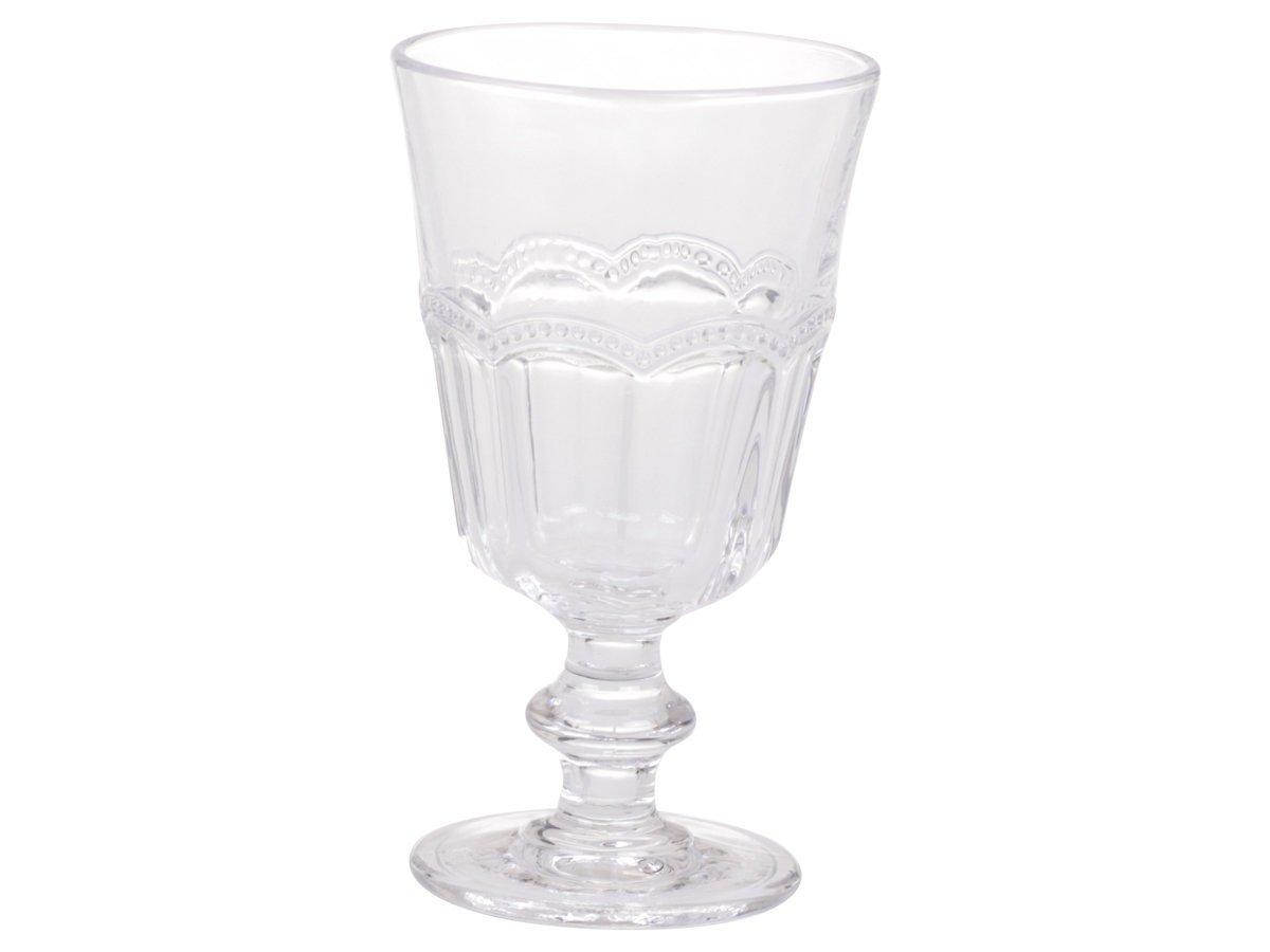 Chic Antique Antoinette Weinglas mit Perlenkante