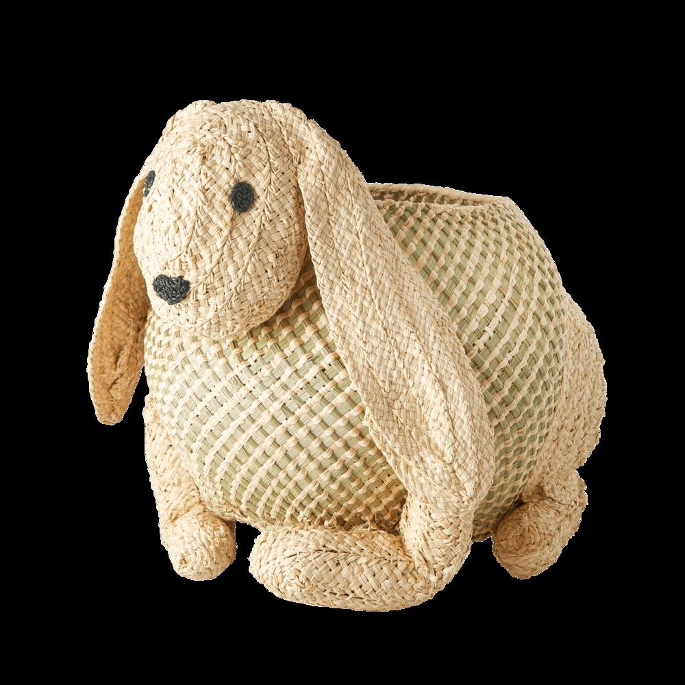 RICE Aufbewahrungskorb Kaninchen