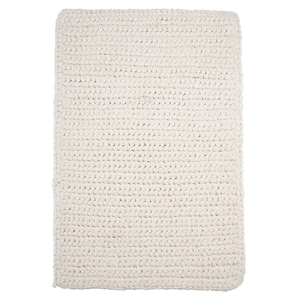 House Doctor Badezimmer Teppich Crochet rechteckig