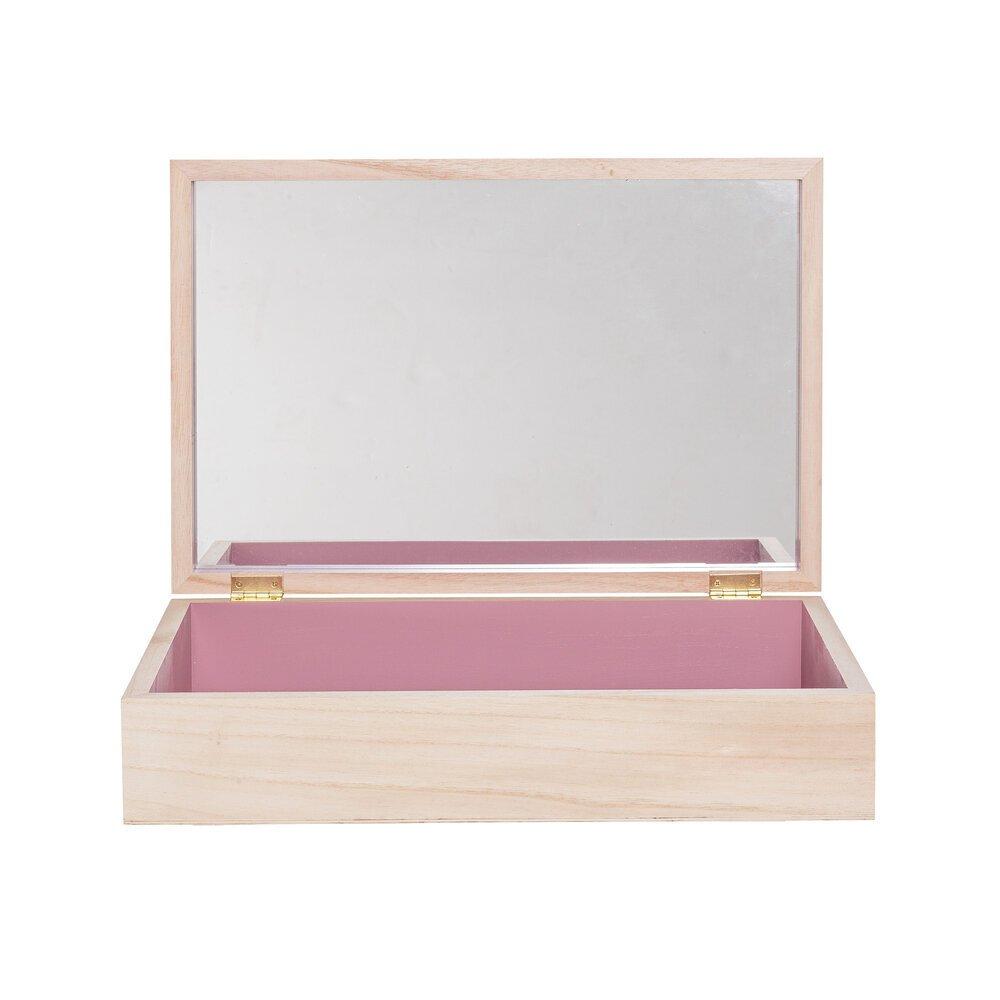 Bloomingville Aufbewahrungs Box Gervind mit Spiegel