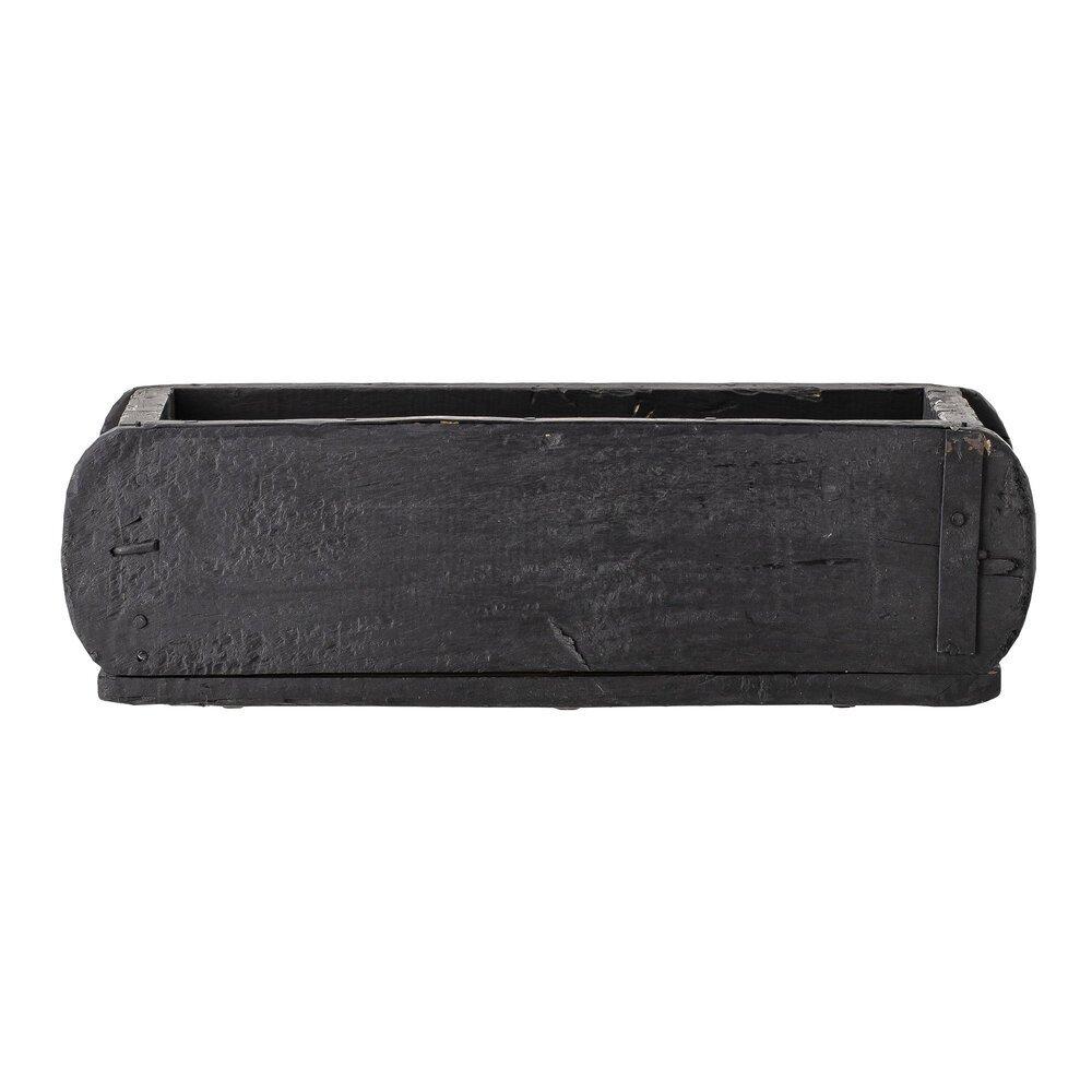 Bloomingville Black Box, Ziegelform recyceltes Holz
