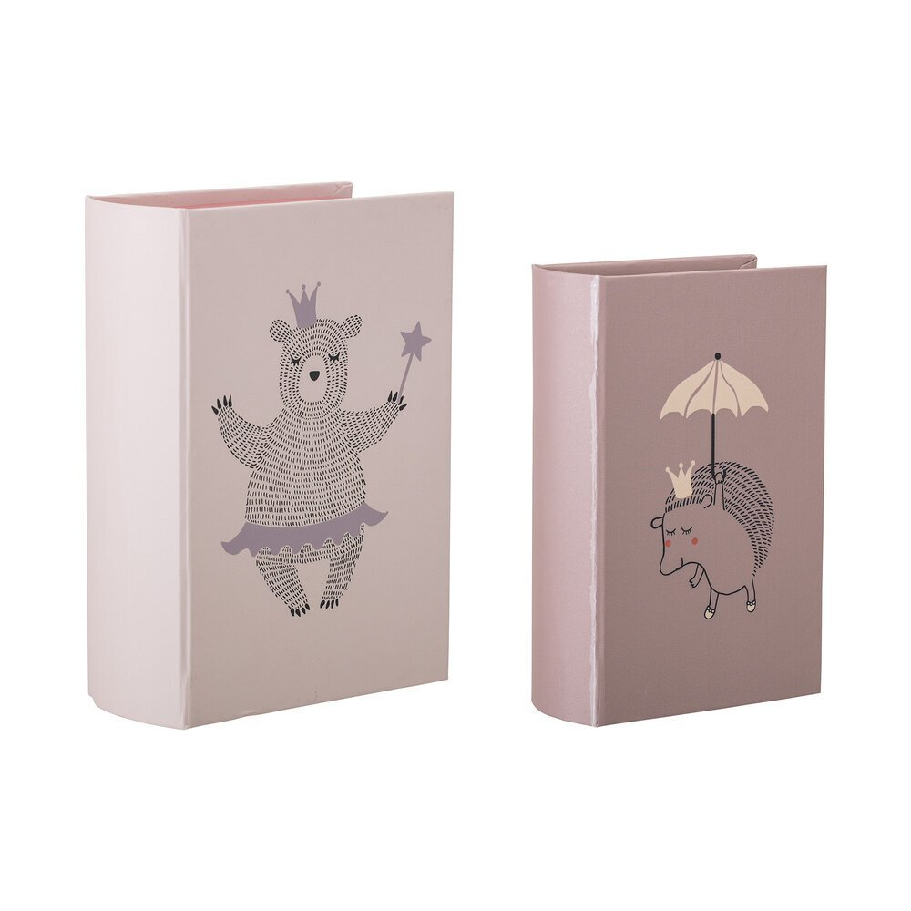 Bloomingville Box Mehti in Buch Form 2er Set