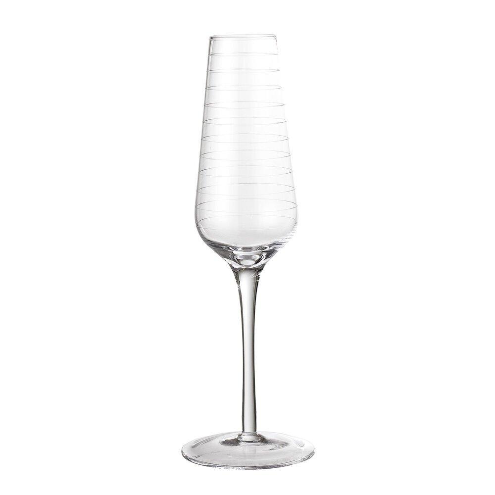 Bloomingville Champagner Glas Flöte Alva