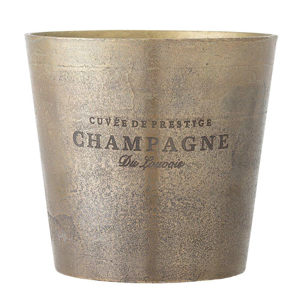 Bloomingville Champagner Weinkühler Arissa aus Aluminium
