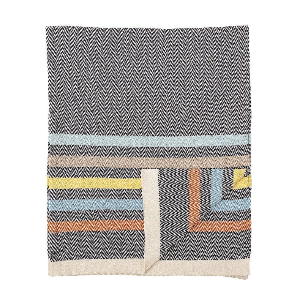 Bloomingville Decke Kaidu aus Baumwolle