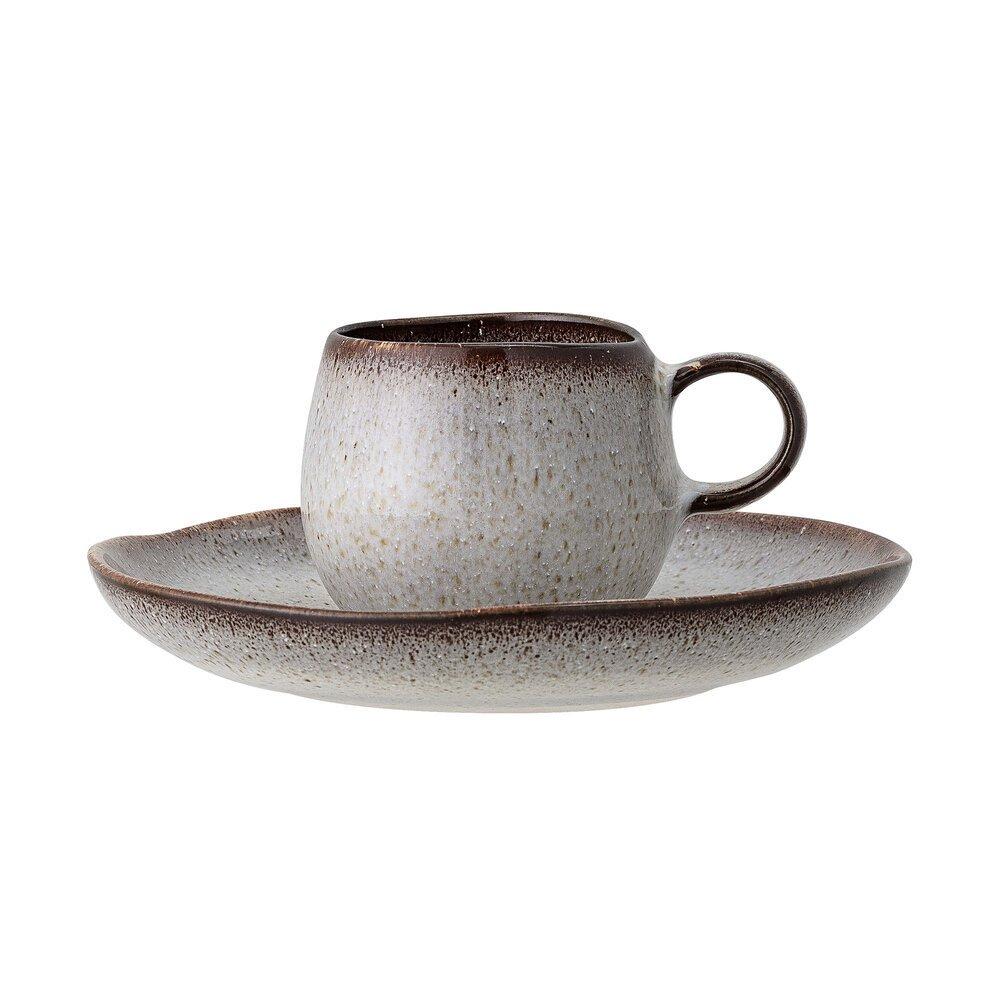 Bloomingville Espressotasse mit Untertasse Sandrine