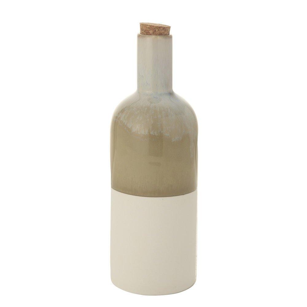 Bloomingville Flasche Heather Steingut