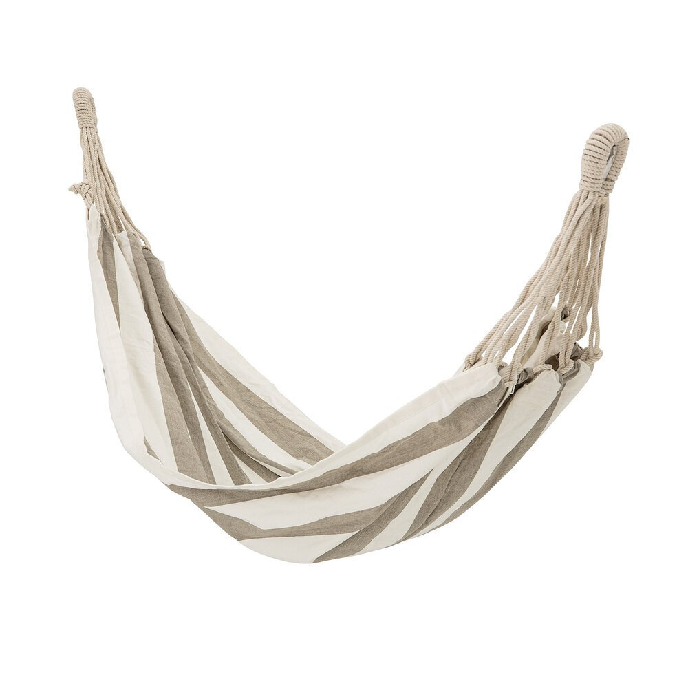 Bloomingville Hängematte Hammock, Grey, Cotton