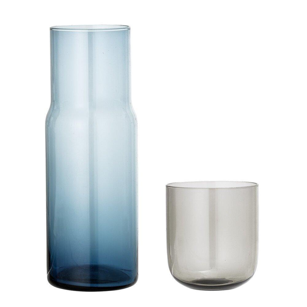 Bloomingville Karaffe mit Glas Multi