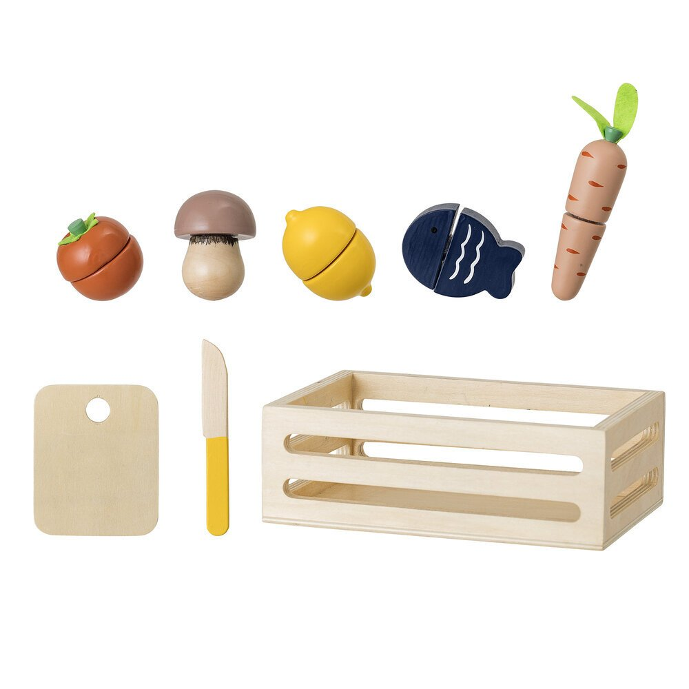 Bloomingville Kinder Spielset Guila Gemüse aus Holz