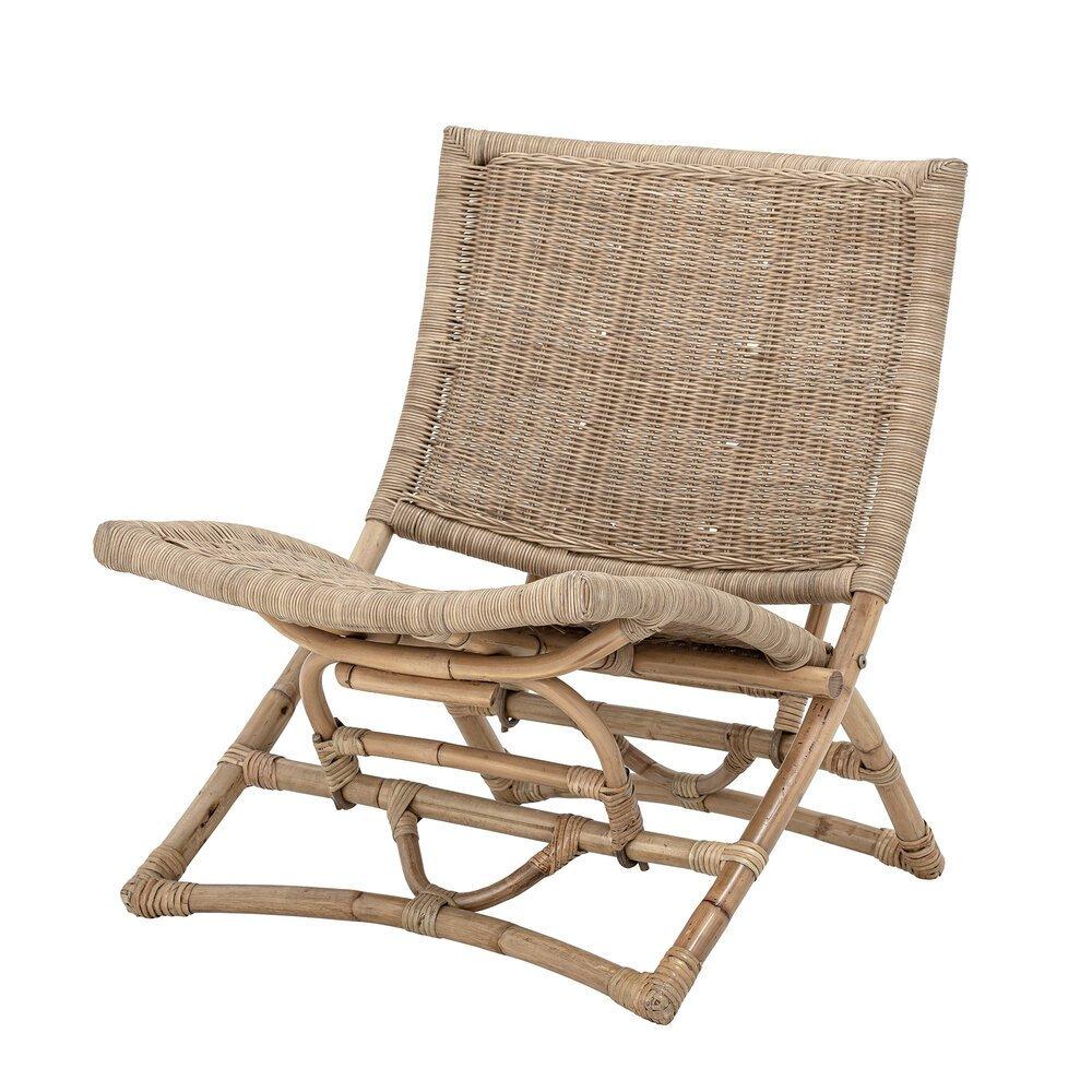 Bloomingville Lounge Stuhl Baz aus Rattan