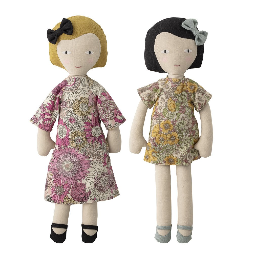 Bloomingville Molly und Vida Soft Puppen