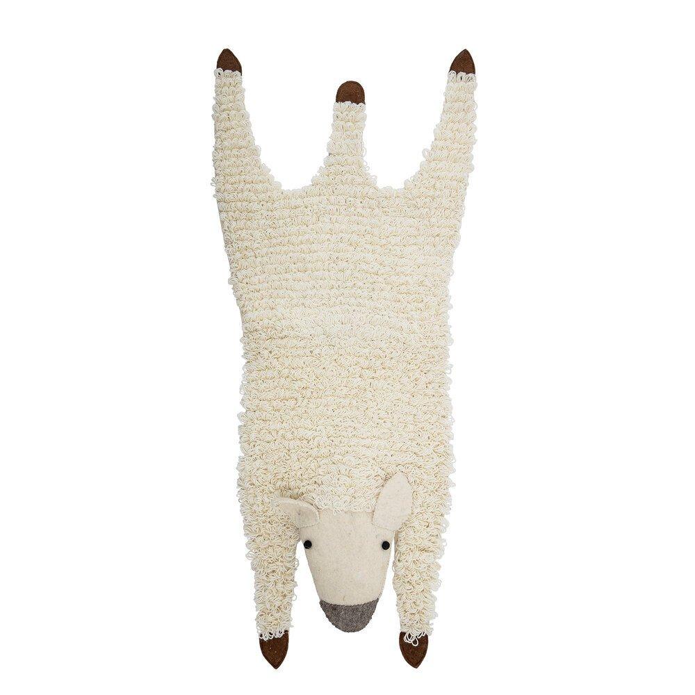 Bloomingville Schaf Teppich Becky aus Wolle