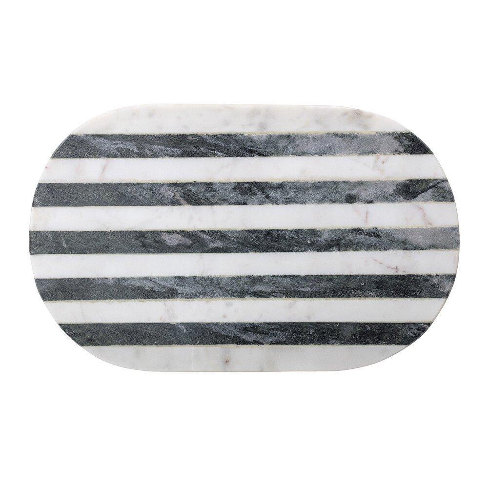 Bloomingville Schneidebrett Rosario aus Marmor