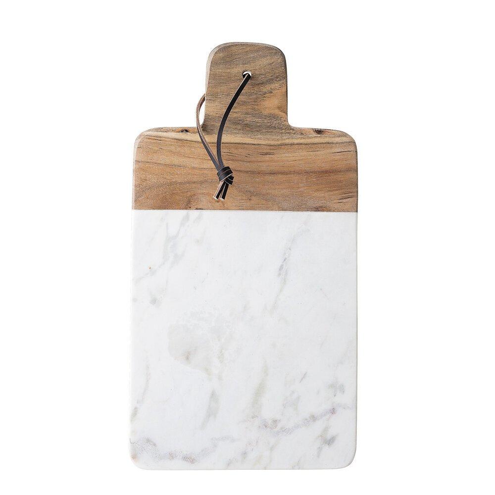 Bloomingville Schneidebrett White Marble