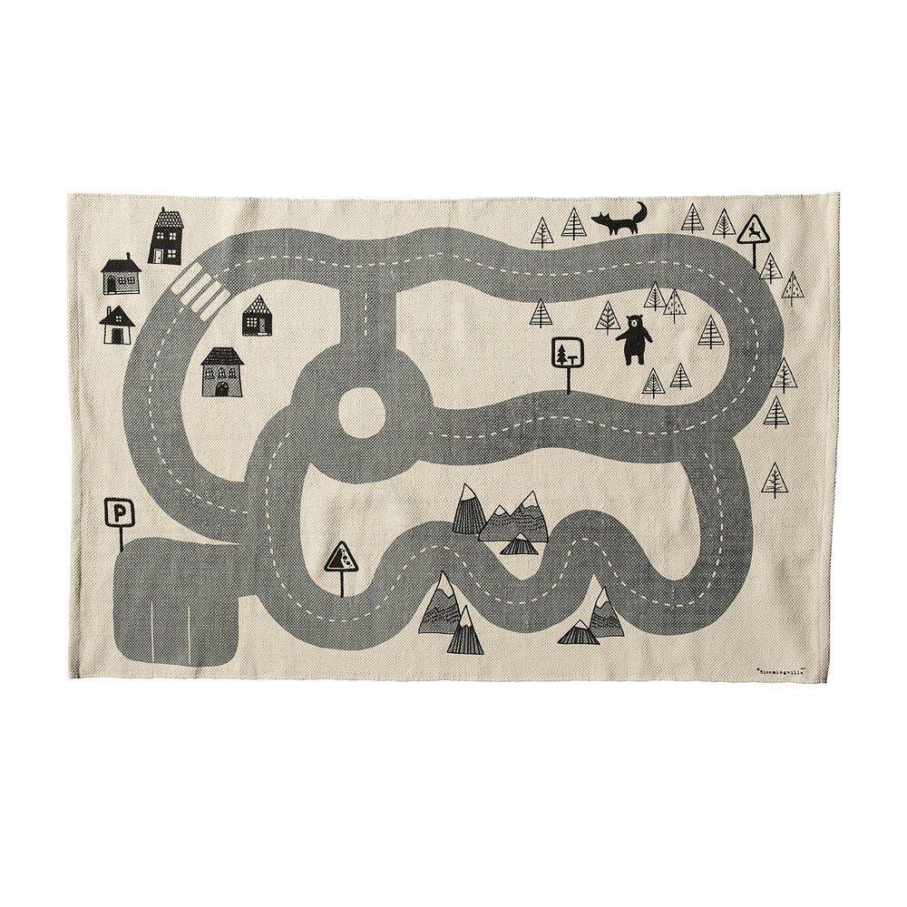 Bloomingville Spiel Teppich Dennis aus Baumwolle