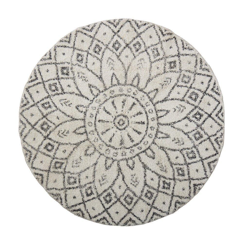 Bloomingville Teppich Acton aus Baumwolle