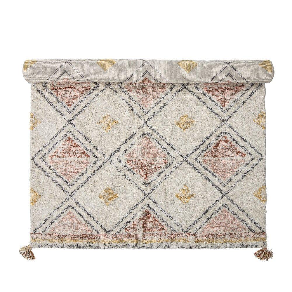 Bloomingville Teppich Inka aus Baumwolle