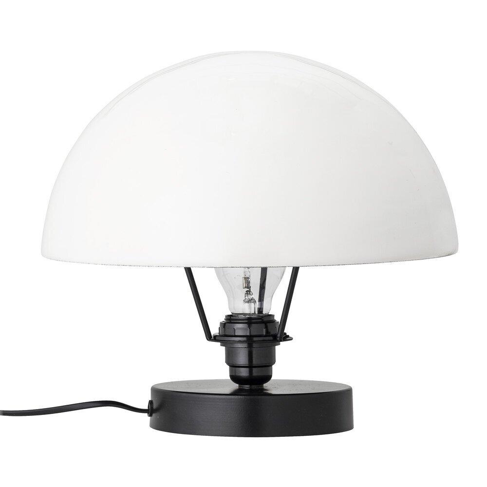 Bloomingville Tischlampe mit weißer Kuppel