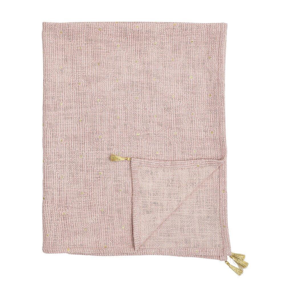 Bloomingville Überwurf Decke Balder aus Baumwolle
