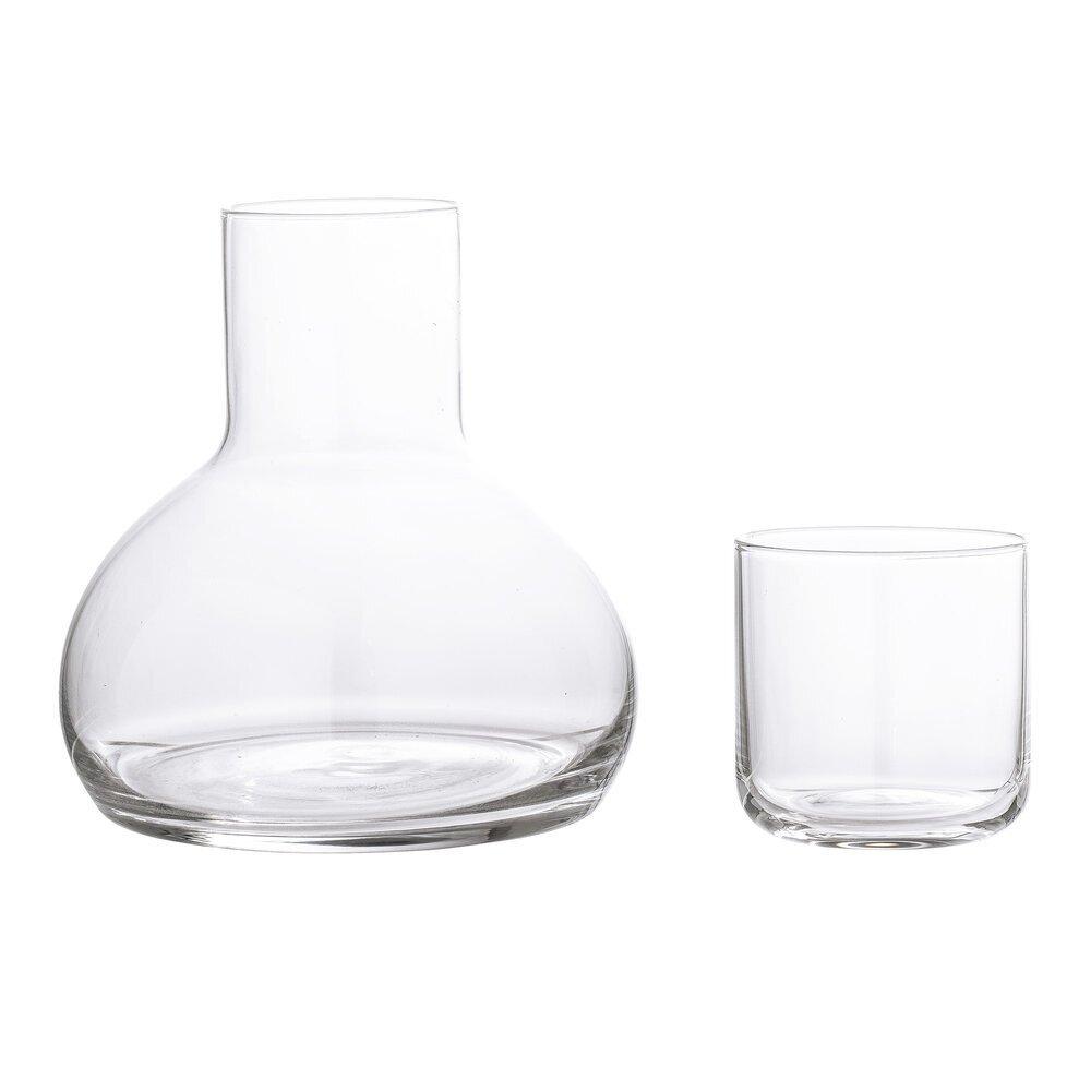 Bloomingville Wasserkaraffe mit Glas