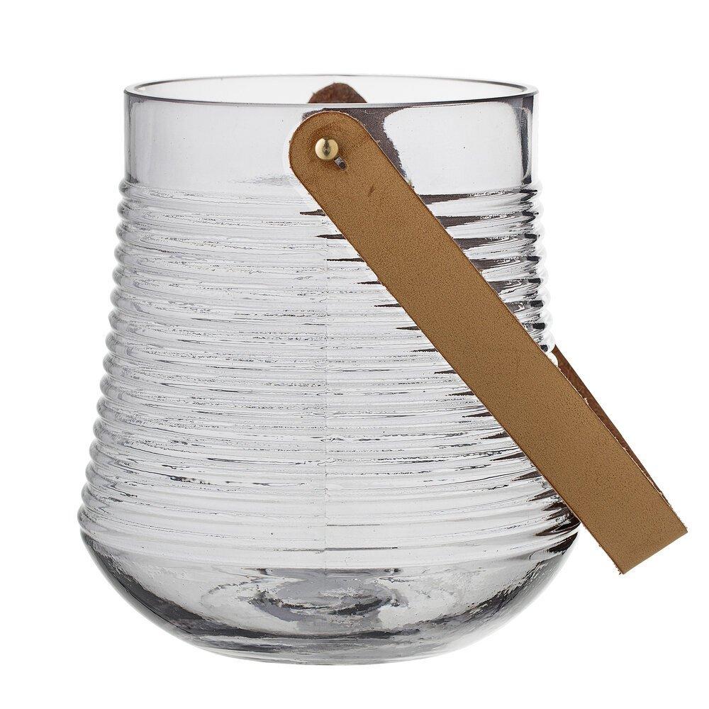 Bloomingville Windlicht Kasra aus Glas