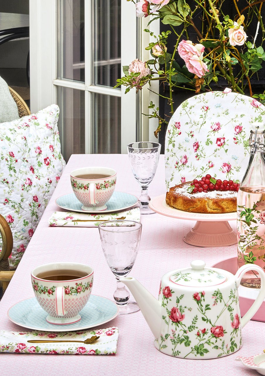 Blumige Teatime mit GreenGate