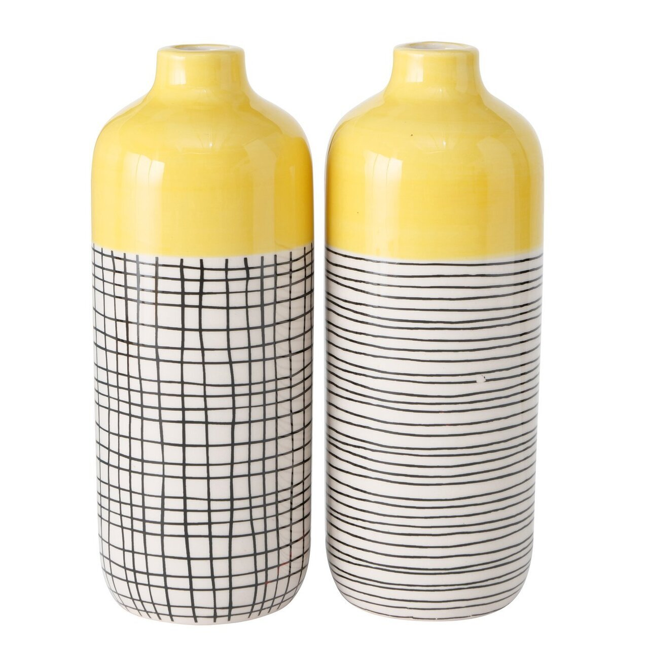 Boltze 2er Set Vase Sannie