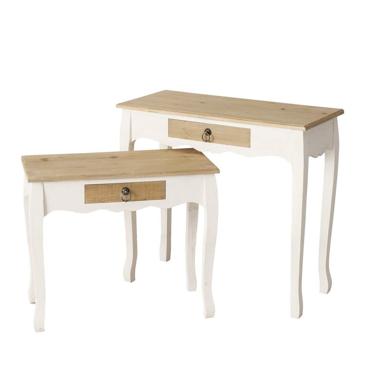 Boltze 2er Tisch Set Genua