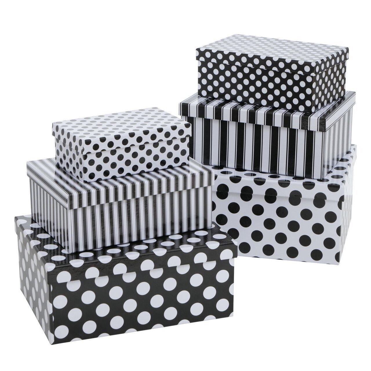 Boltze 6er Set Geschenkbox Dottia