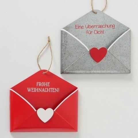 Boltze Briefhalter Weihnachtspost