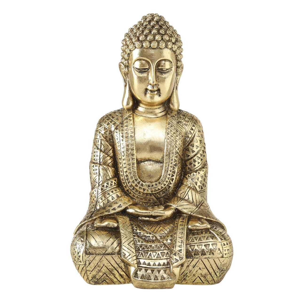 Boltze Buddha Figur Jarven gold