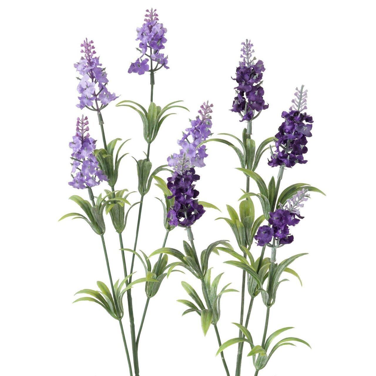 Boltze Deko Kunstblume Lavendel