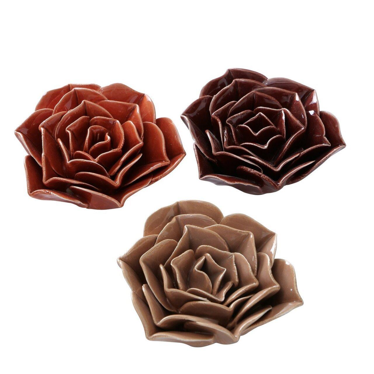 Boltze Dekoaufsteller Blume Satina