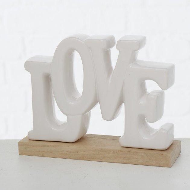 Boltze Dekoaufsteller Love