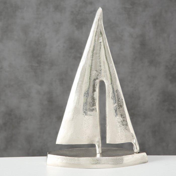 Impressionen zu Boltze Dekoaufsteller Segler aus Aluminium, Bild 2