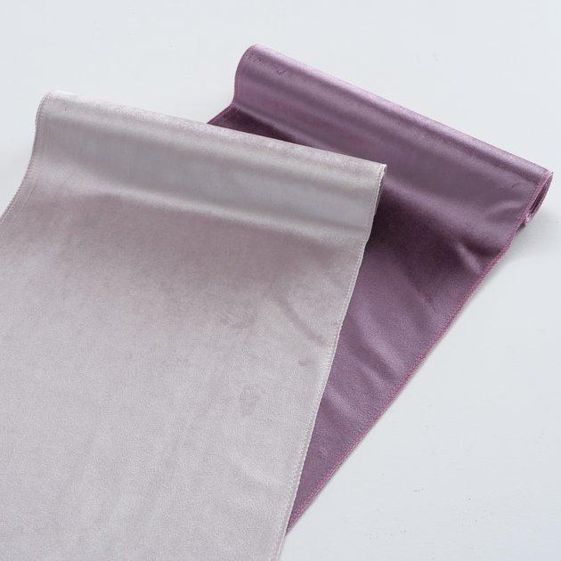 Boltze Dekostoff Velvet 2er Set violett