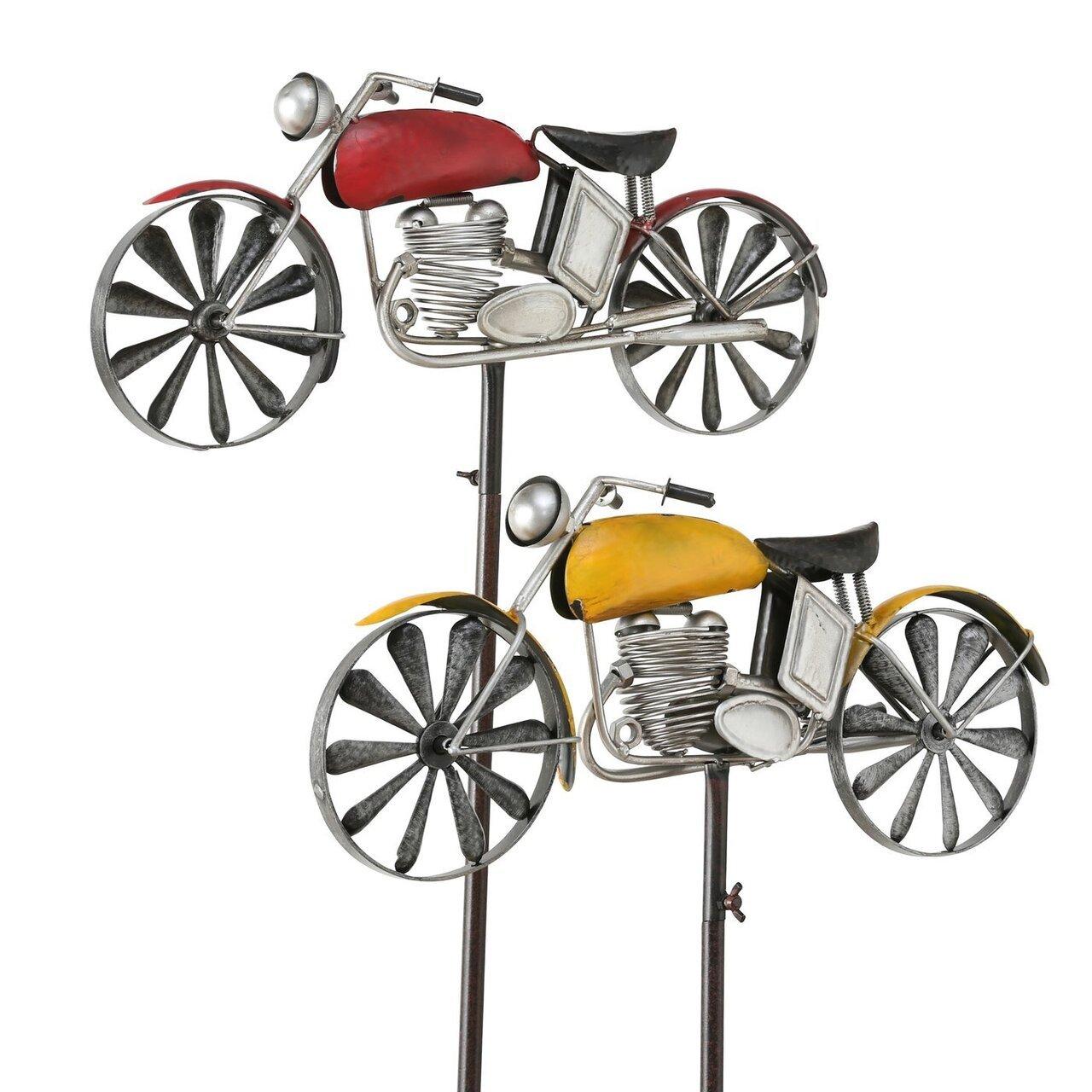 Boltze Gartenstab Motorrad