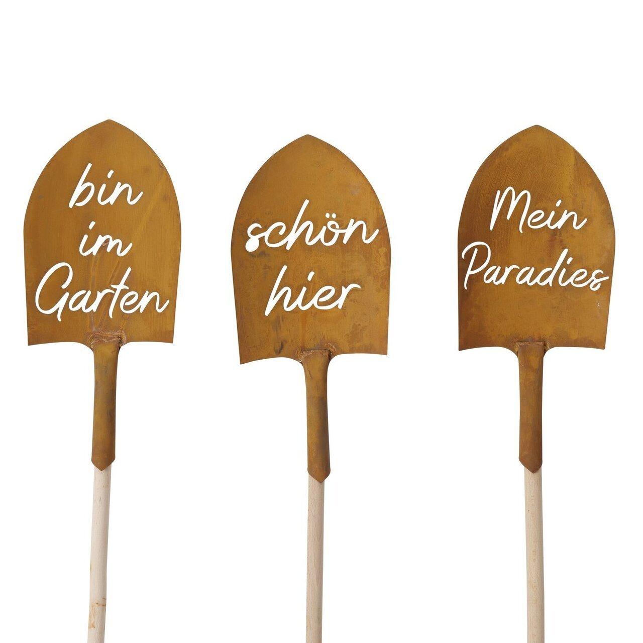 Boltze Gartenstab Schaufel