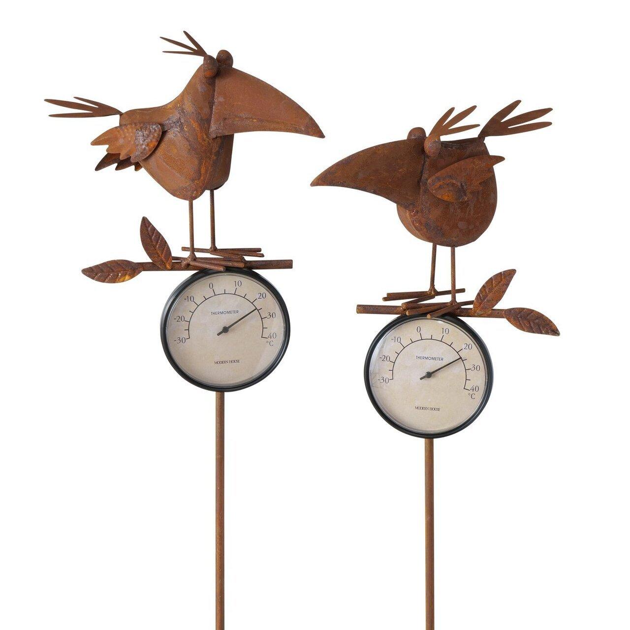 Boltze Gartenstab Thermometer Henry