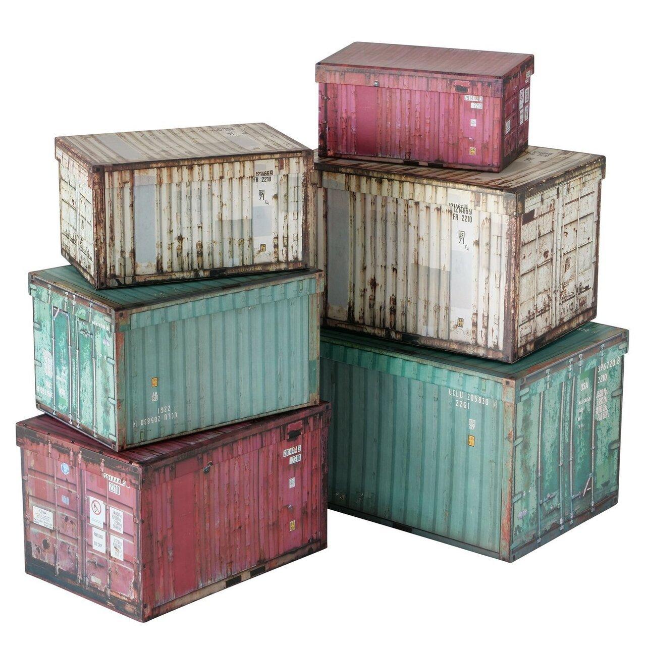 Boltze Geschenkbox Container 6er