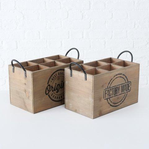 Boltze Holzkiste Box Original mit Henkel